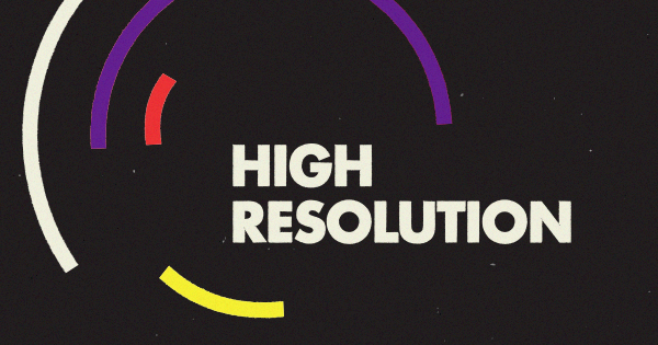 high resolution podcast logo