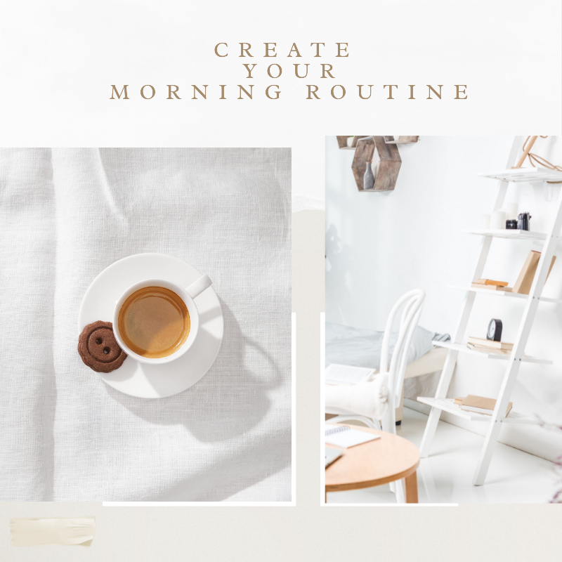 morning routine for work remotely