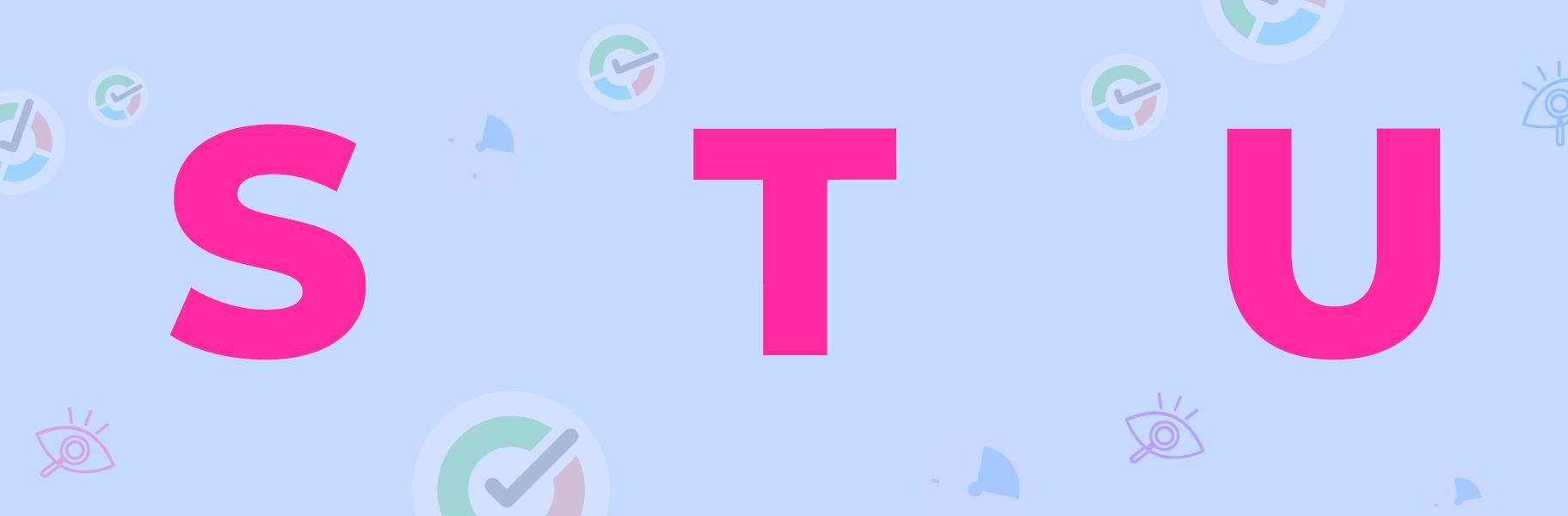 s t u letters image