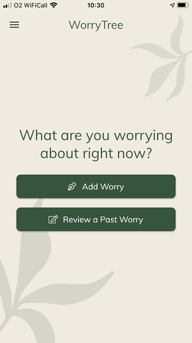 worry tree app